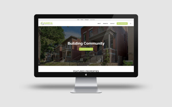 Garcia Construction Website